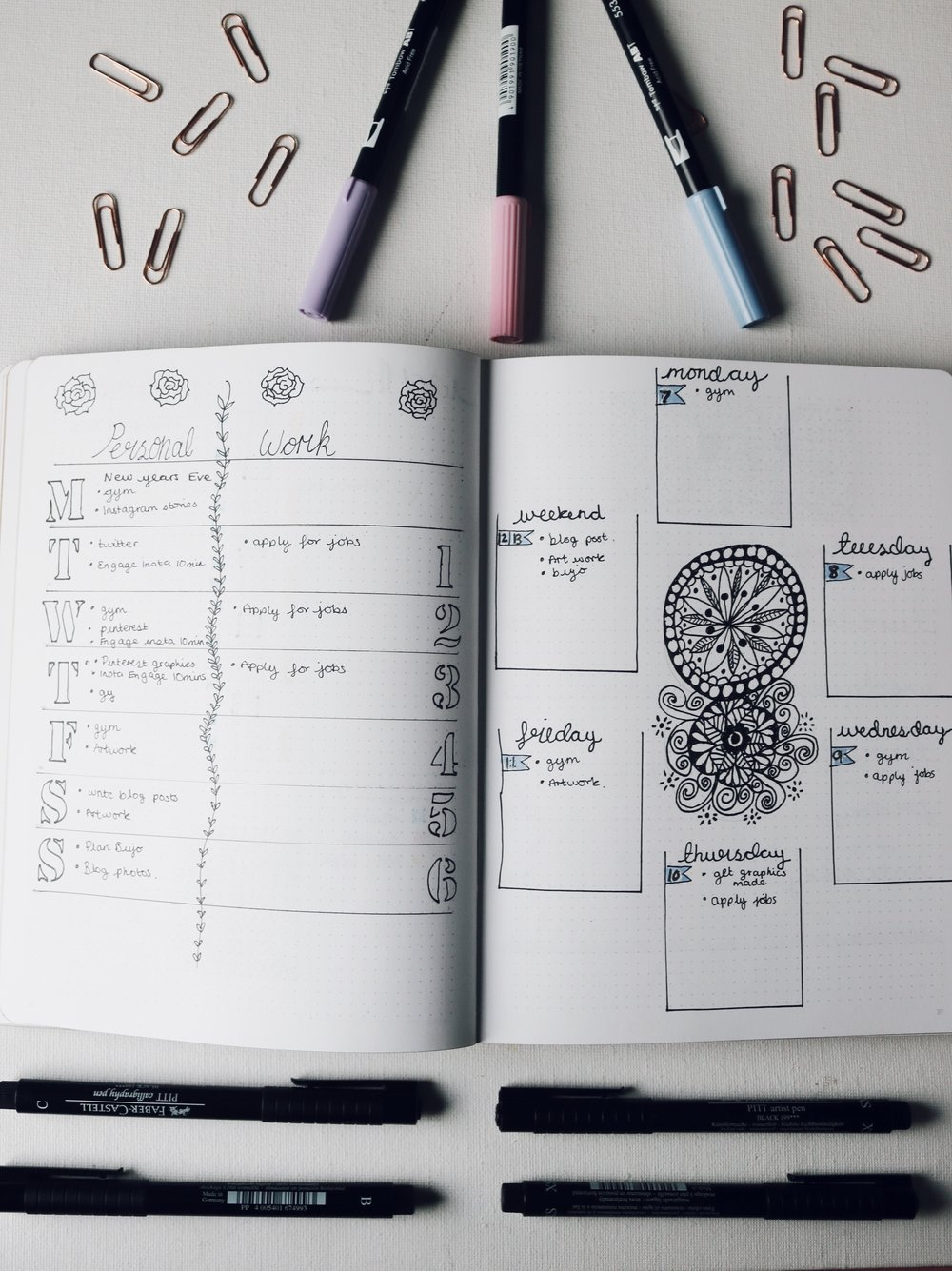 Plan With Me: Look Through January 2019