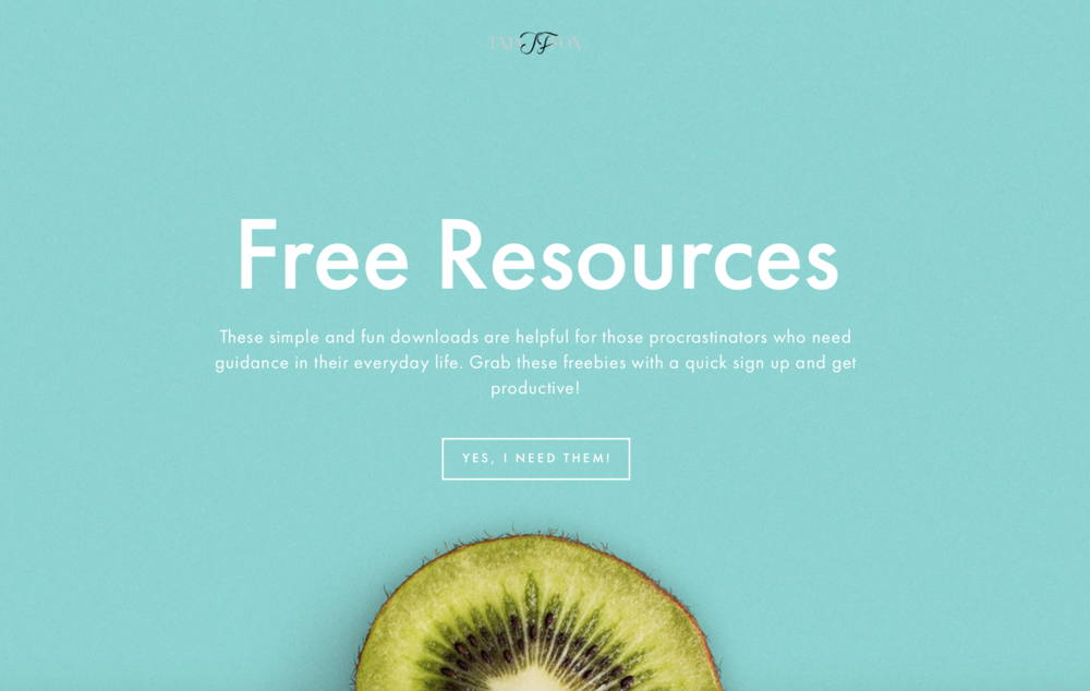 free resources tajafox.com