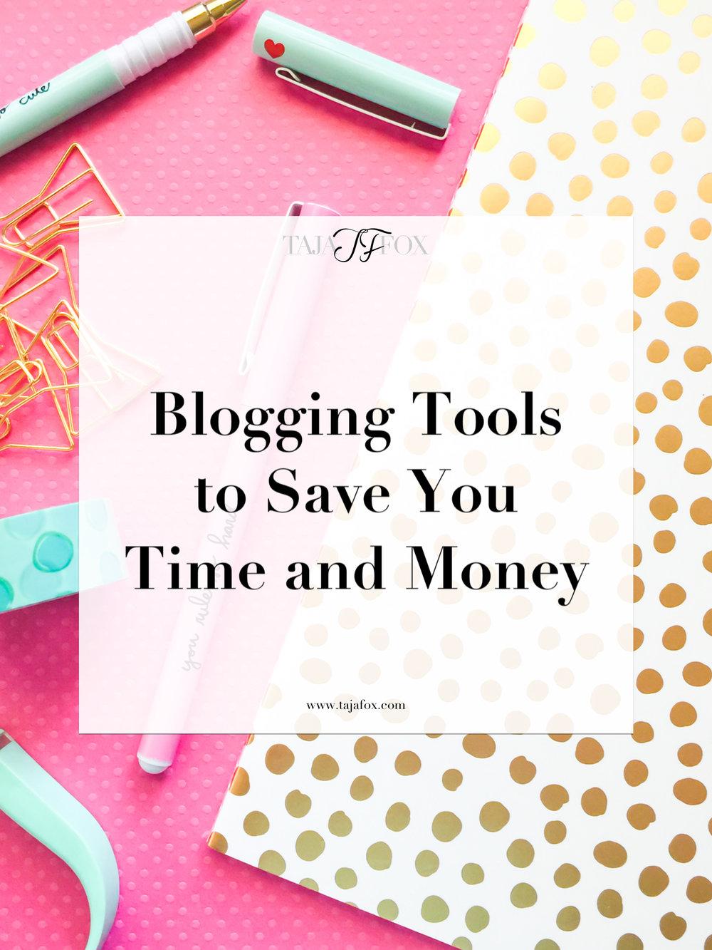 Blogging Tools | Taja Fox