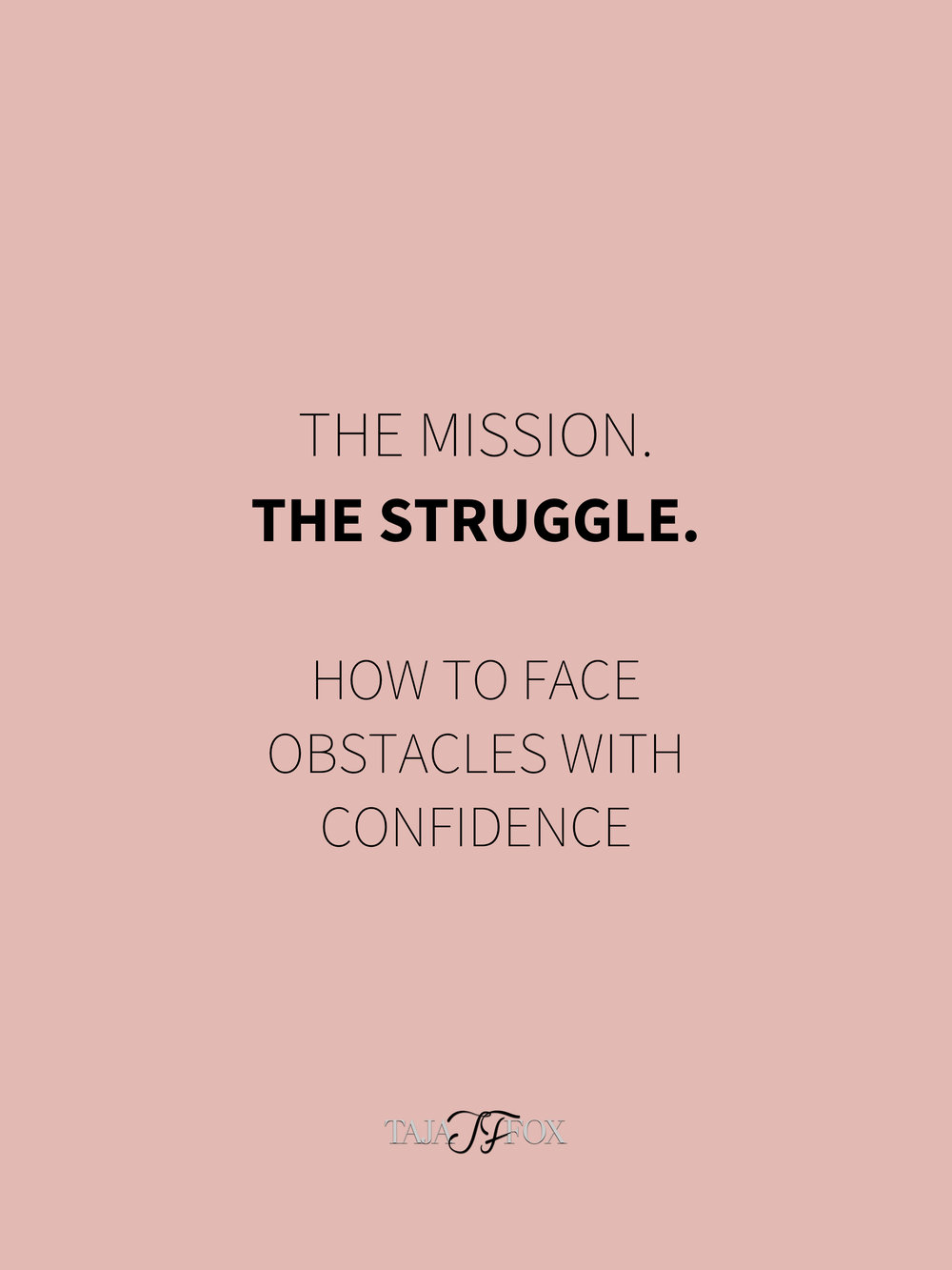 how to face obstacles with confidence tajafox.com.jpg