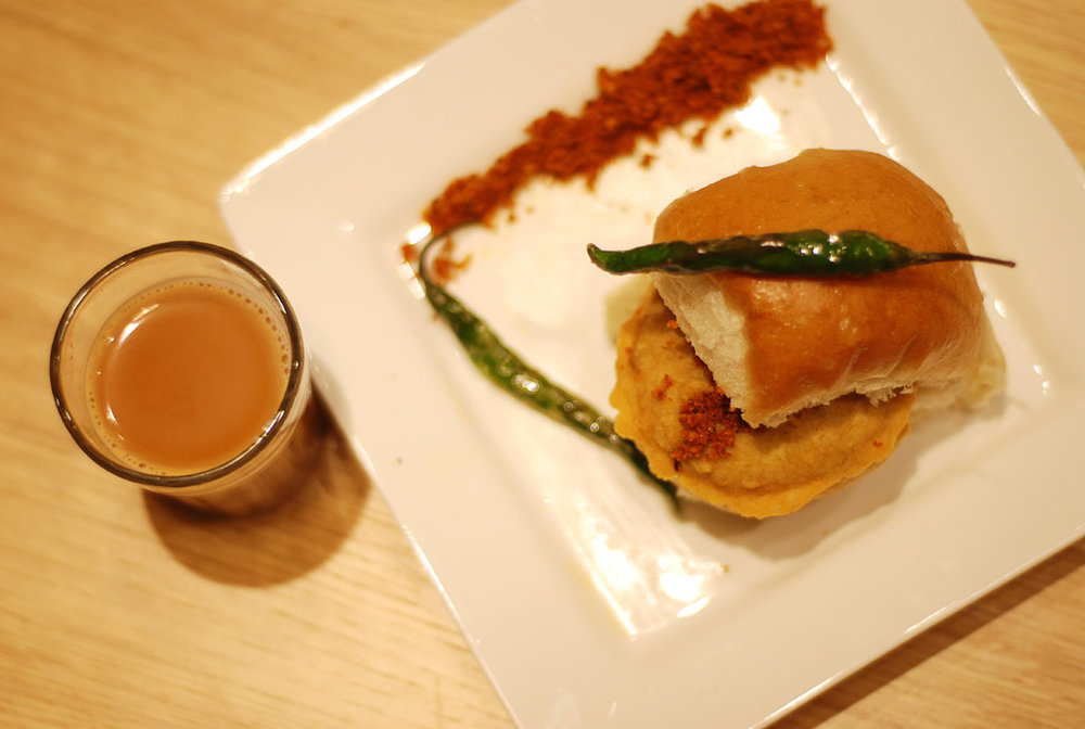 Cutting Chai and Vada Pao- A Bombay Staple Combo!