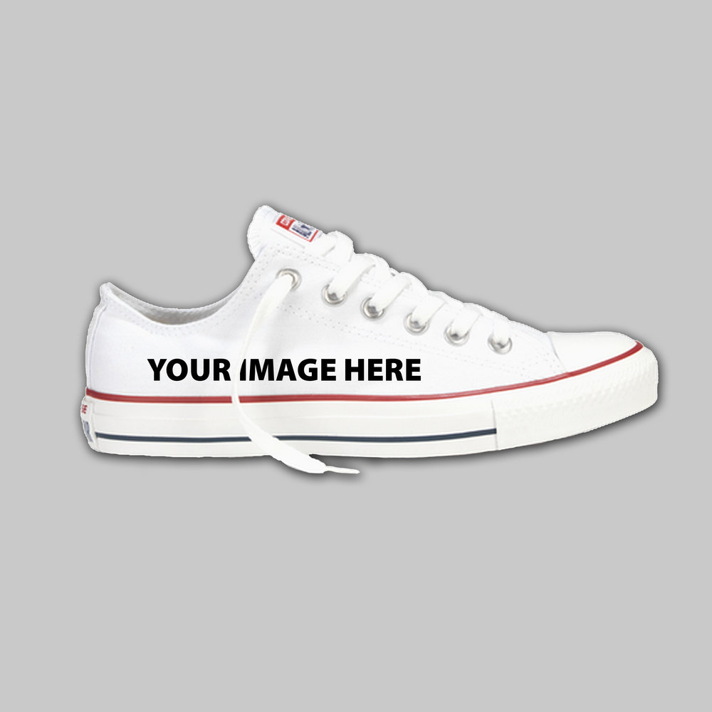 8cc7338b7758 Custom Converse Low Top — Arkham Prints