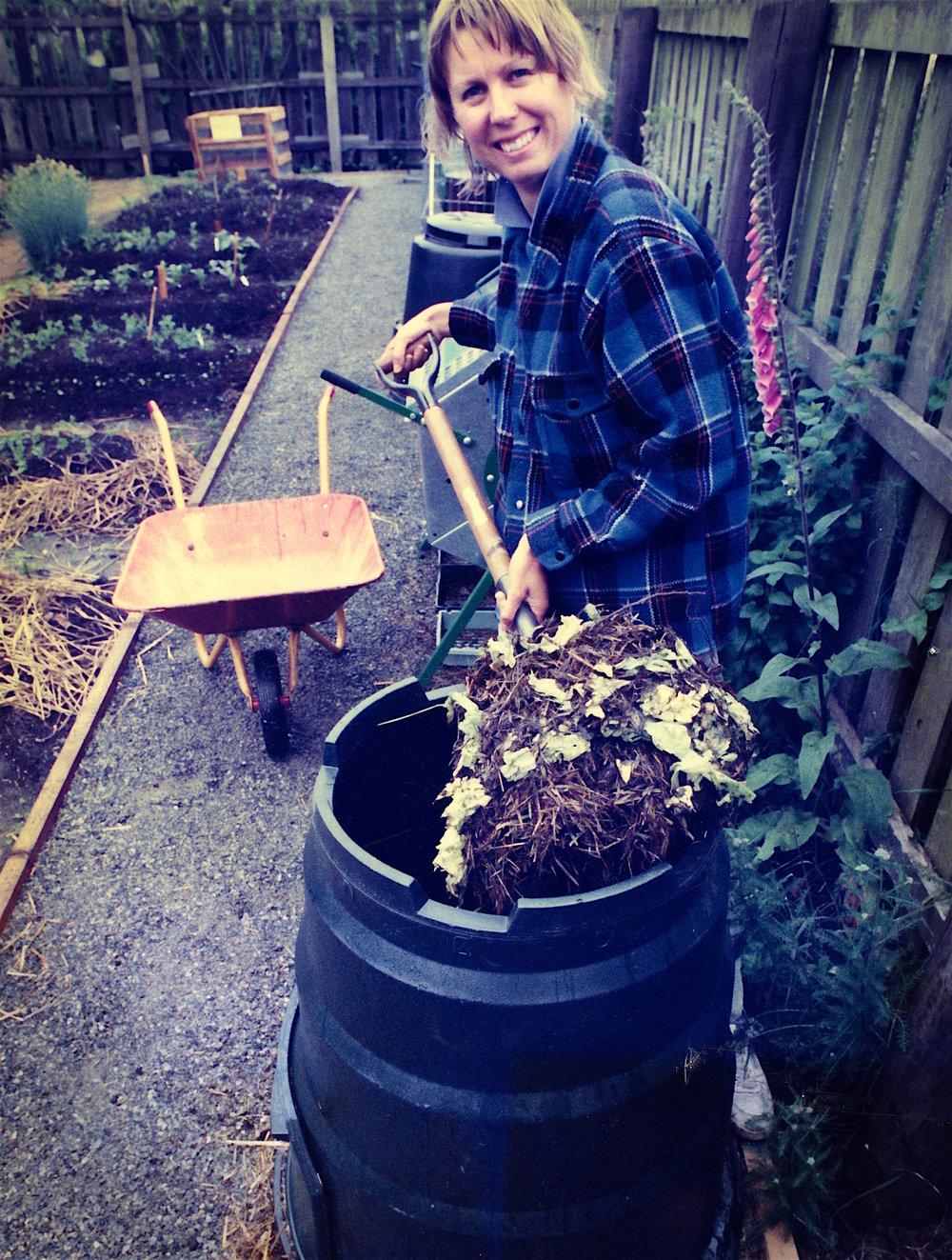Gill Elcock, Head Gardener