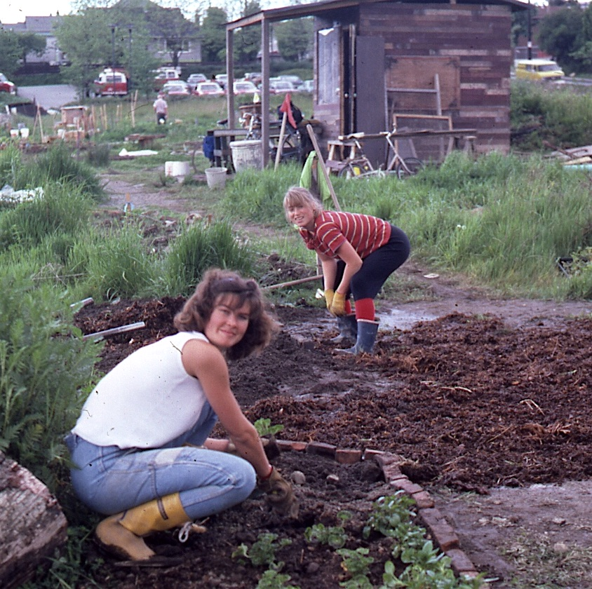 Wendy and Sheila Jones, Community Gardeners