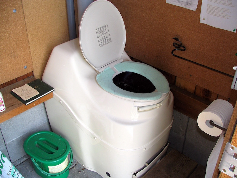 Compost Toilet Used for 20 Years