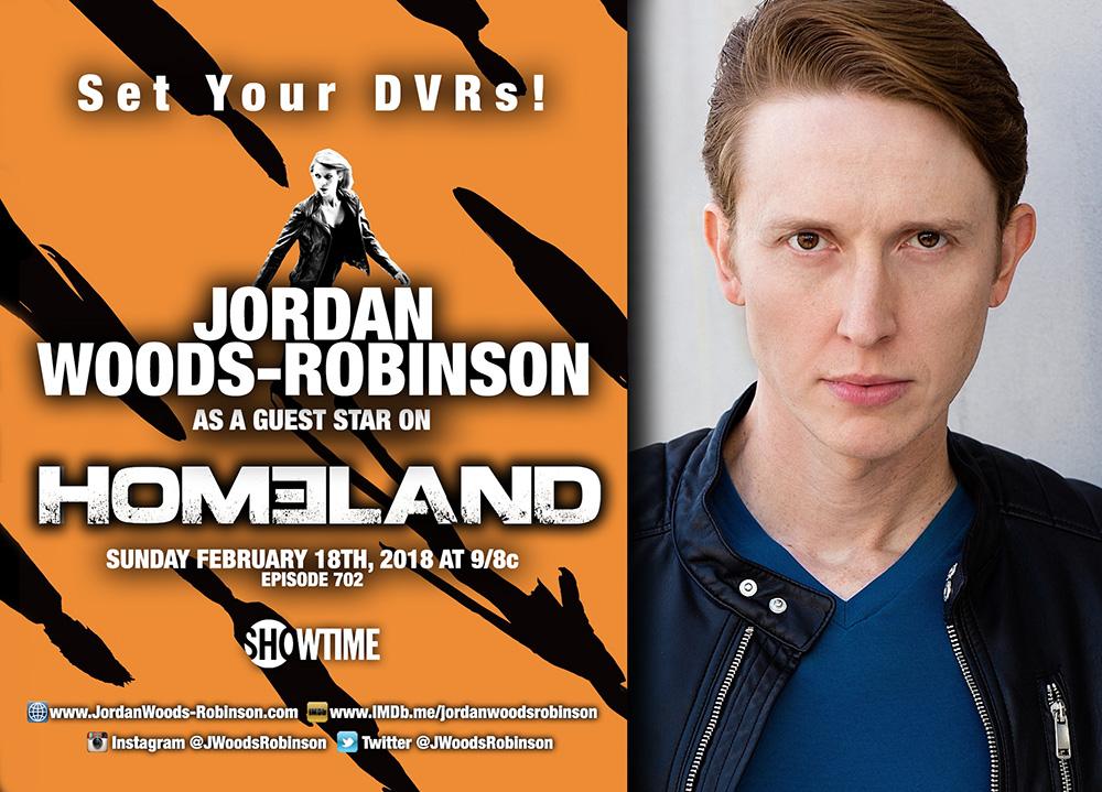 Jordan Woods-Robinson Guest Stars on Homeland — Stephanie