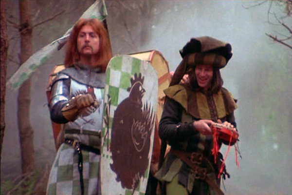 Even Monty Python and the Holy Grail featured a minstrel.