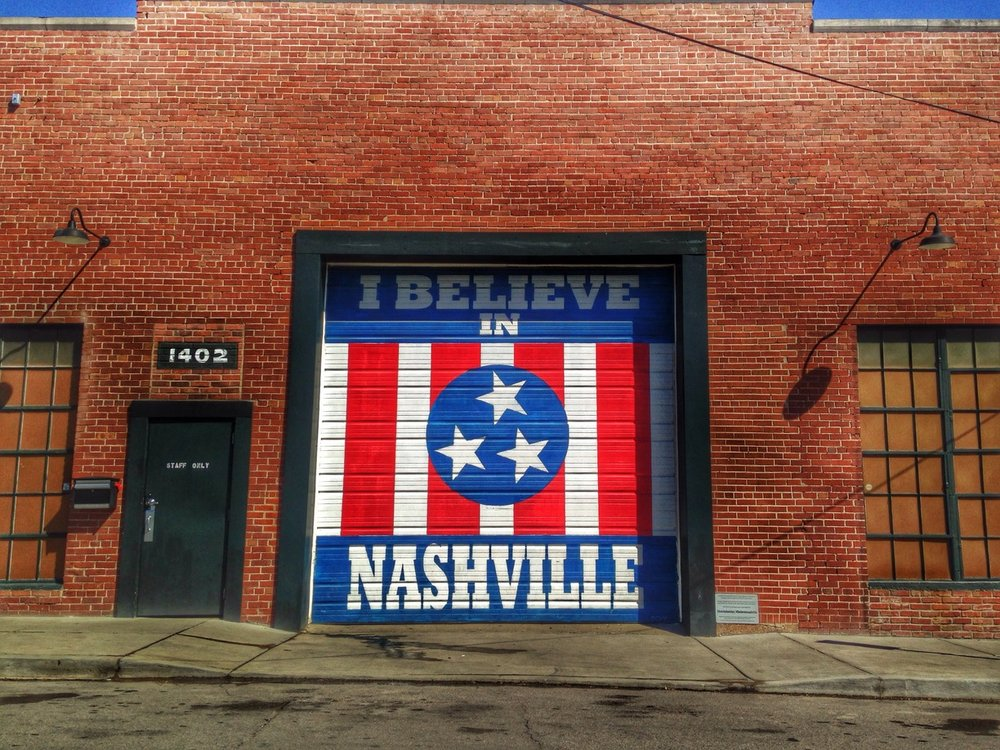 """I belive in Nashville"" -- DCXV Designs"