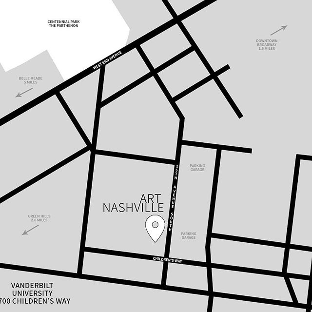 Save the location!  Vanderbilt University: 2700 Childrens Way! See you then. . . . #art #artfair #international #applicationsopen #artgalleries #galleries #opencall #nashville #tennessee #contemporary #tradeshow #production #curator #nyc #lifestyle #decor #highart #painting #sculpture #installation #performance #artcollector #collections #collectors #luxury #design #artnashville