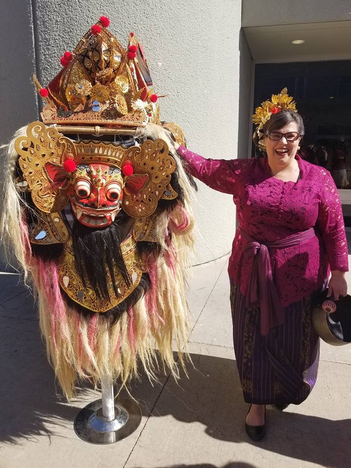 Elizabeth McLean Macy (Founder and Manager)  Liz began studying gamelan in 1996 with Pak Made Lasmawan while a student at Colorado College. A founding member of Sanggar Manik Galih, she has taught courses on Balinese music, arts, and culture in Bali, Indonesia since 2011. Liz holds a Ph.D. in Ethnomusicology from UCLA, where her work addressed the function of music tourism in post-disaster economies.  Liz is an Assistant Professor of Ethnomusicology at Metro State University of Denver. She has previously taught at the University of Denver Lamont School of Music (as Visiting Teaching Assistant Professor of Ethnomusicology), Skidmore College (as Teaching Professor of Ethnomusicology and the founder and director of Skidmore College's Gamelan Banyu Wali, an extension of Sanggar Manik Galih), Colorado College, UCLA, Chapman University, and CalArts.