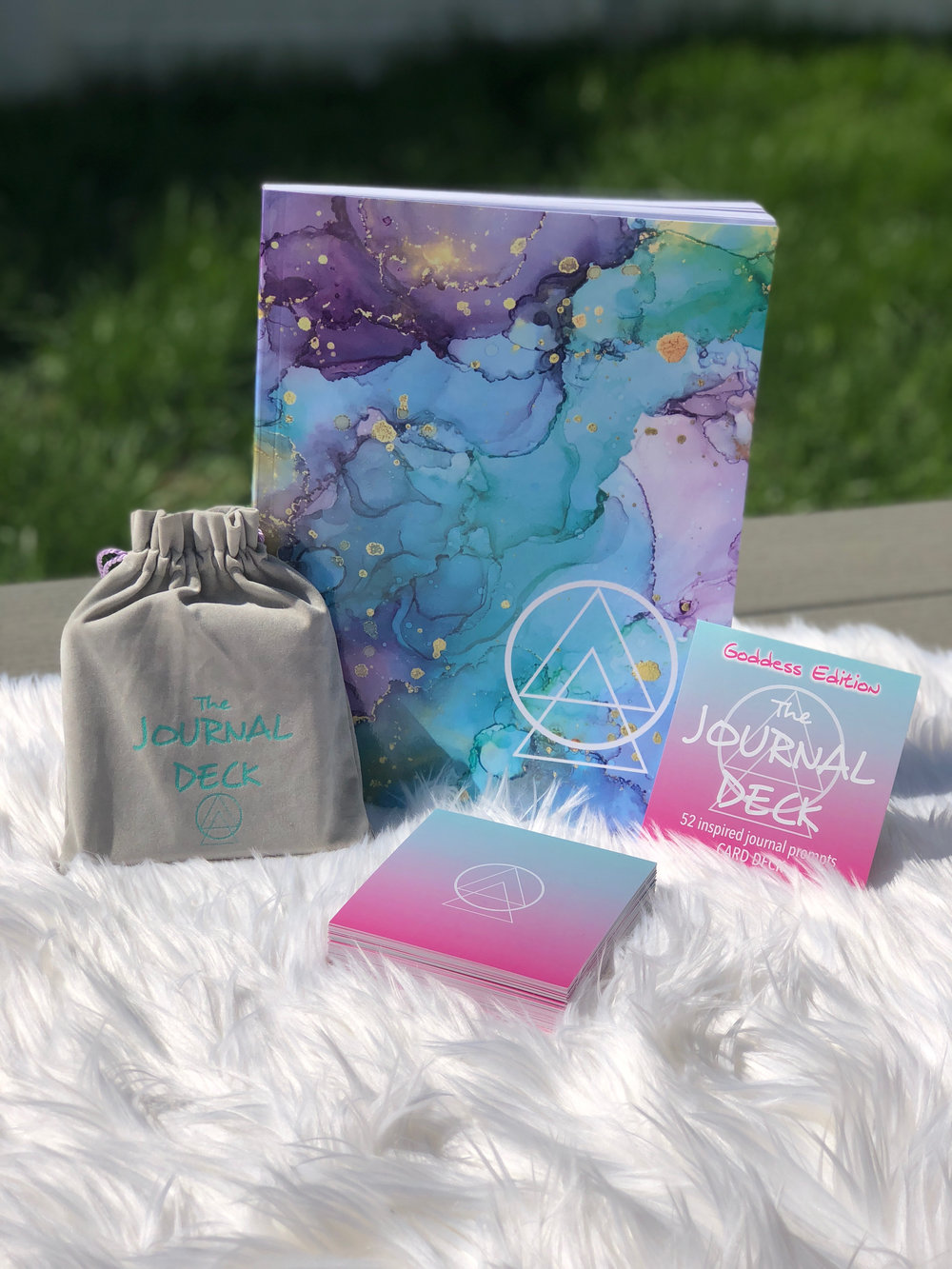 PRE-ORDERs end june 8th - Companion Journal + Goddess Edition Deck $45