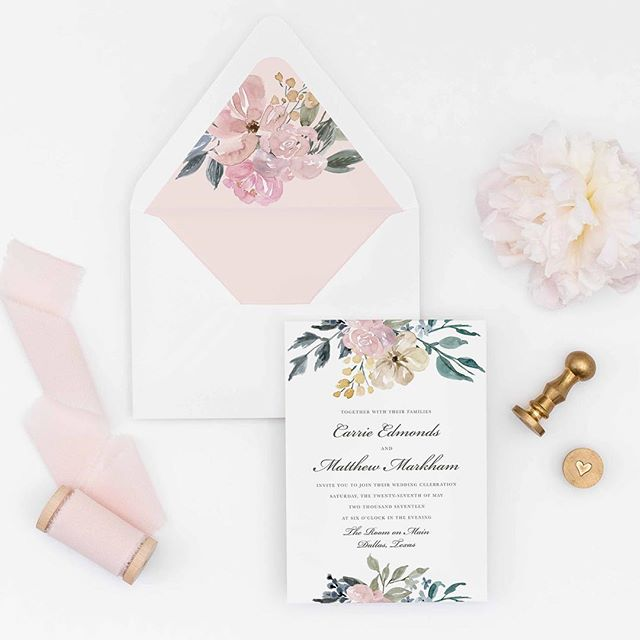 I love creating custom wedding stationery for couples- creating a unique  from start to finish is special!