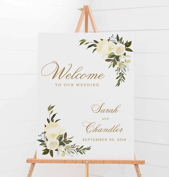 Day of signs can accompany any wedding suite- welcome signs, bar signs, seating charts...the options are endless!