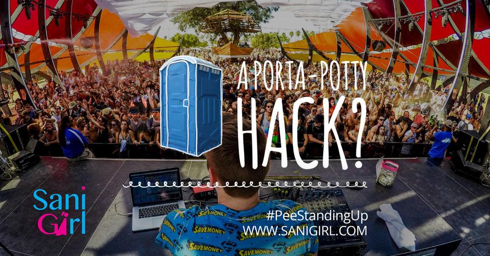 SaniGirl Festival Gear Lollapalooza