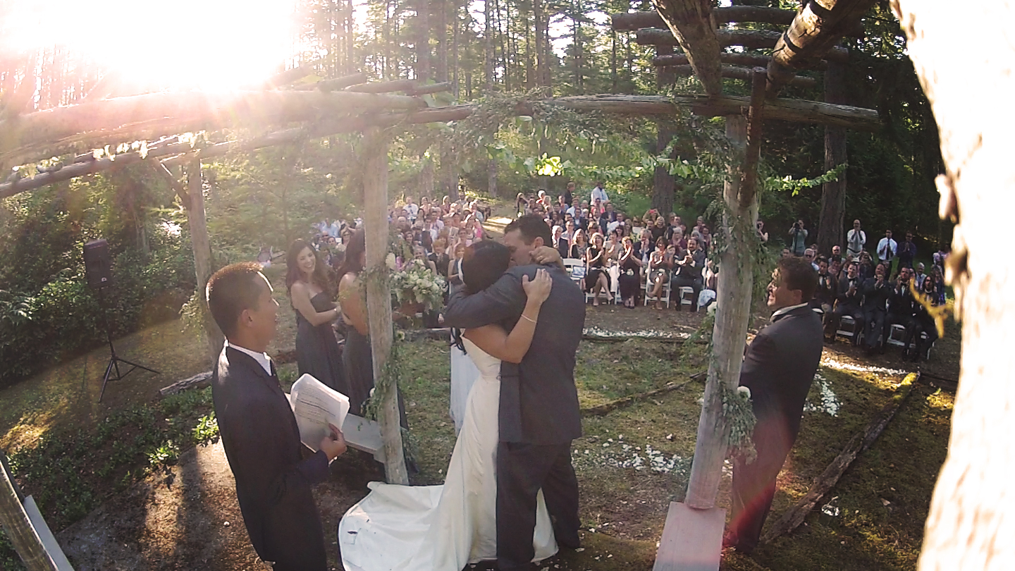 San Juan Island Wedding Videography