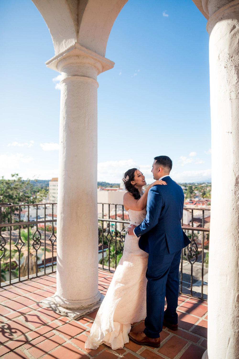 For couples willing to make the climb up to the clocktower, the reward is sweeping panoramic views.