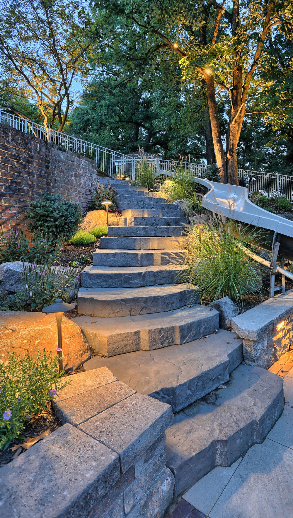 Landscape lighting in South Middletown, PA