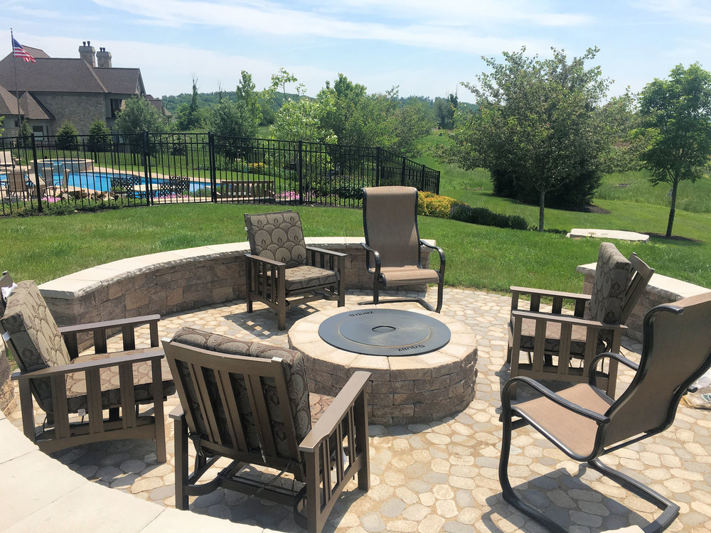 Patio design in Lower Paxton, PA