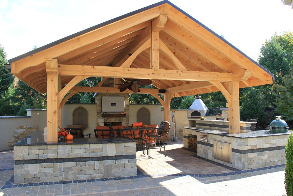 Outdoor kitchen in South Middletown, PA