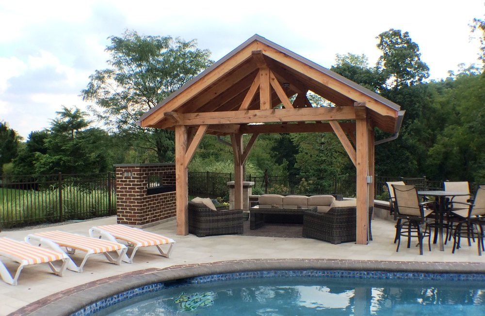 Outdoor structures in Lebanon County, PA