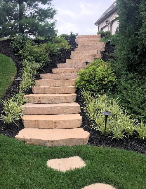 Landscape Design for Hillside Homes | Landscaping Ideas, Patio ...