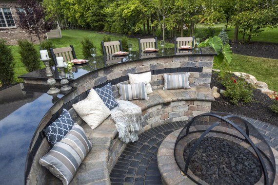 Functional Permanent Seating Ideas For Your South Middletown Patio