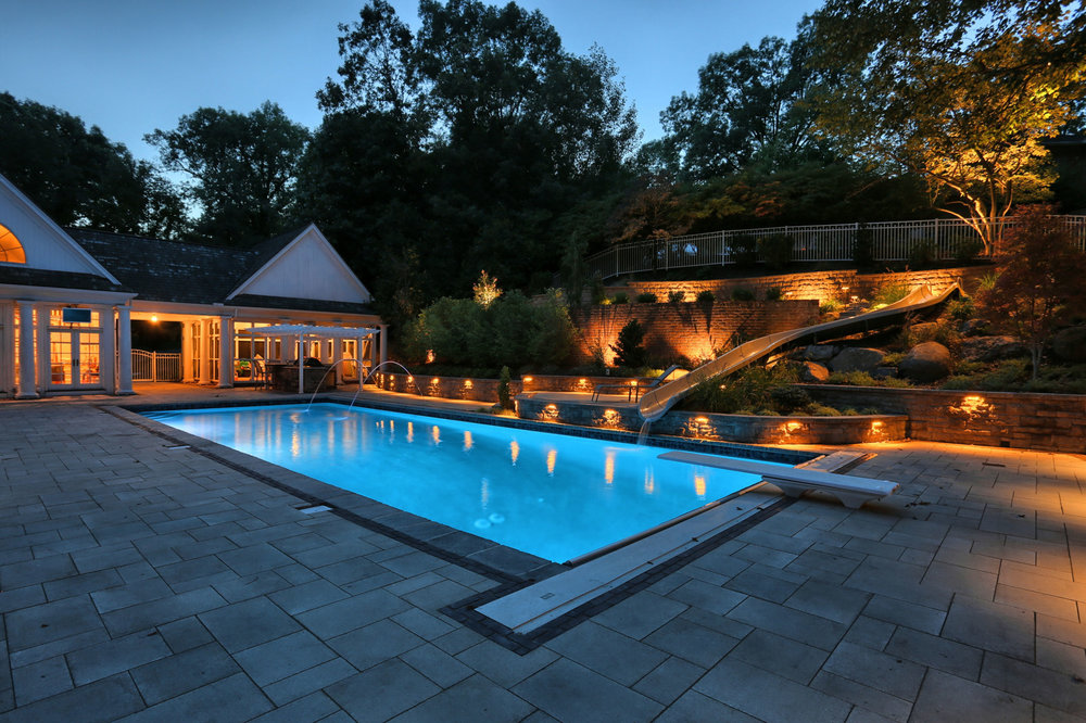 Essential Landscape Lighting for Your Pool Area in Lebanon County, PA
