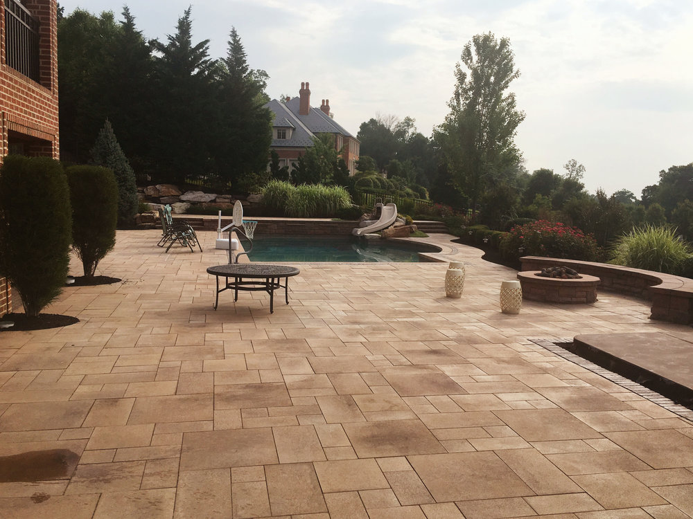 Patio Ideas for Extra Large Backyards in Hampden PA