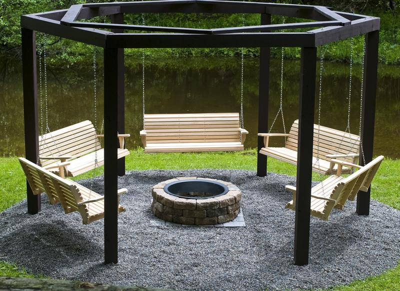 Fire and Water Features for your Cumberland County, PA, Landscape Design