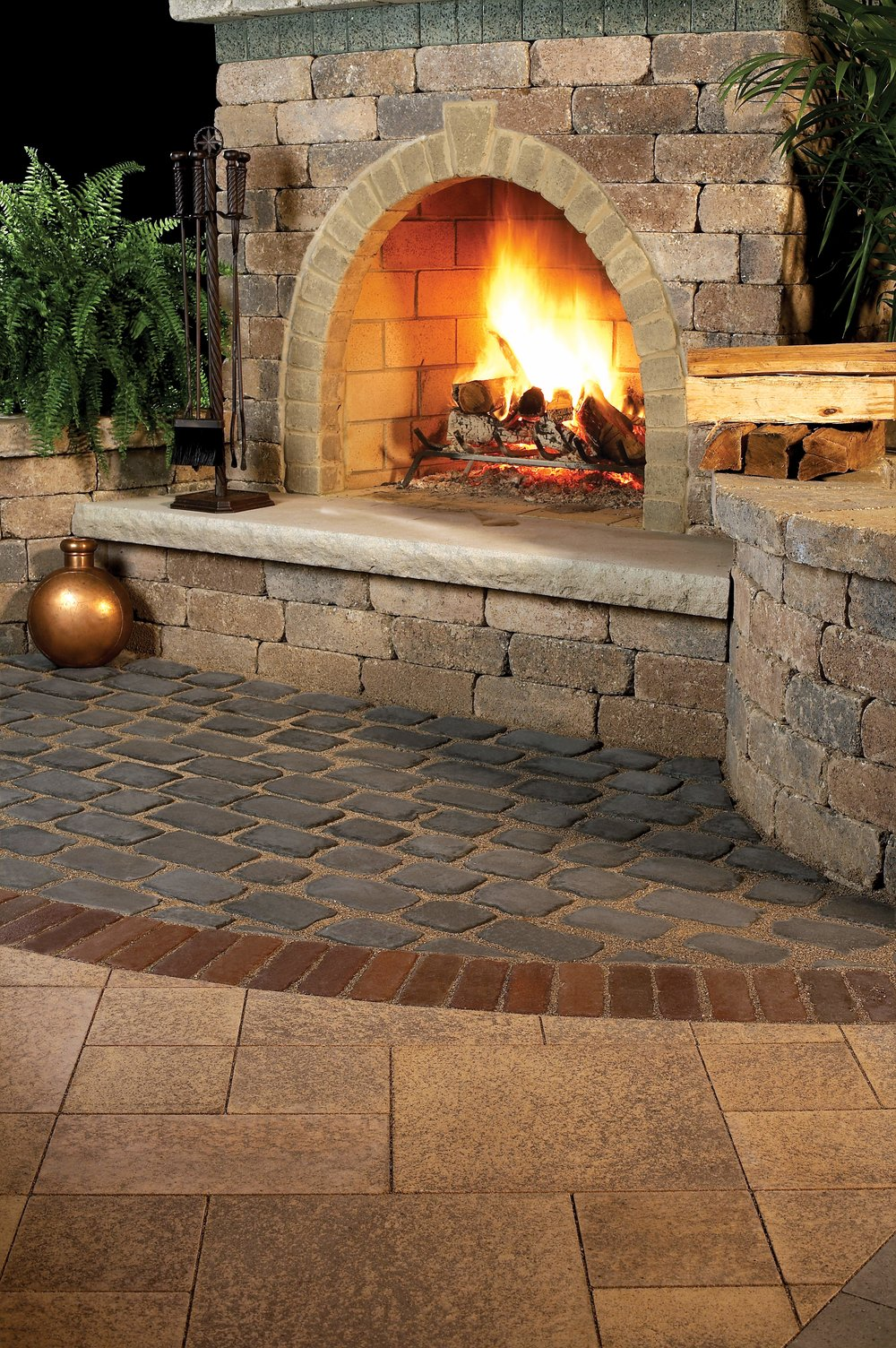 Matching Your Outdoor Fireplace To Your Paver Patio In Cumberland County, PA