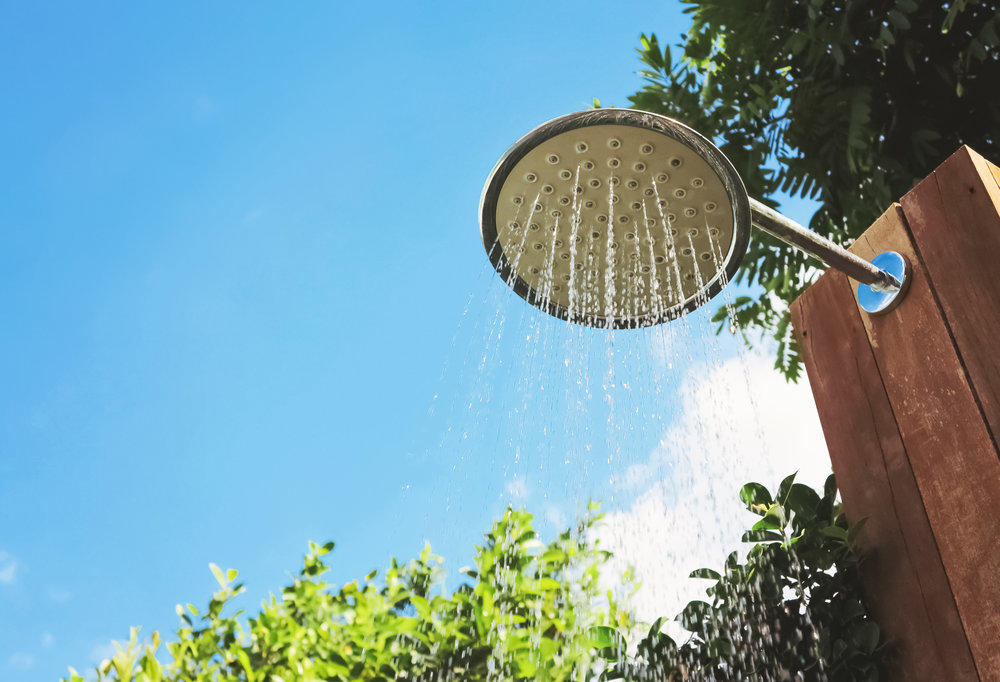 How to Incorporate an Outdoor Shower into Your South Londonderry, PA, Landscape Design