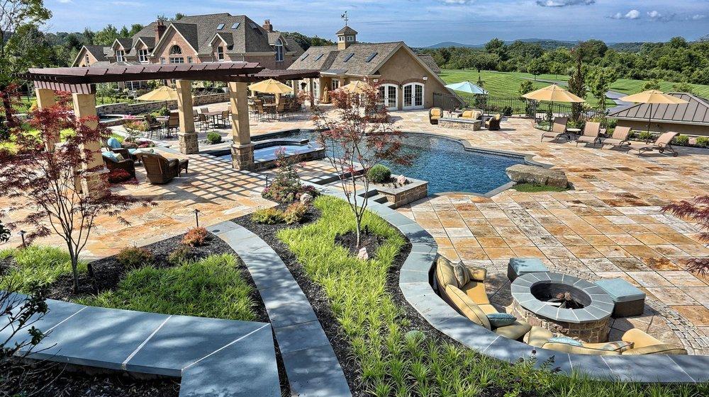 Landscape Design project in Upper Allen, PA