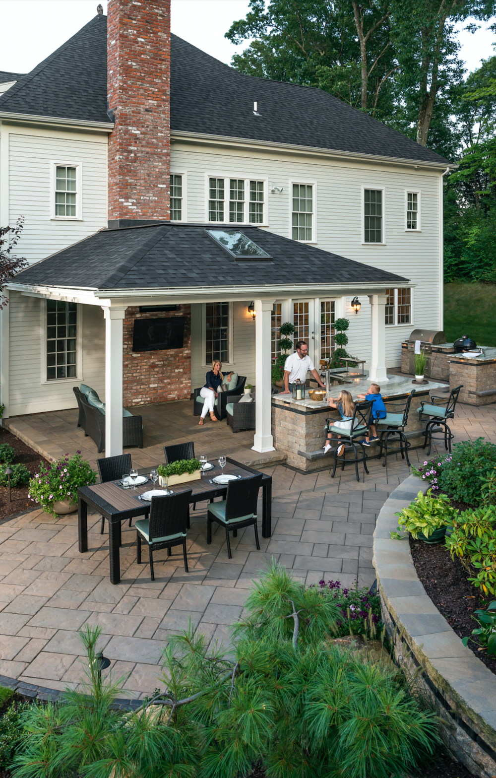 Updating Your Outdoor Fireplace and Kitchen with Masonry in South Londonderry, PA