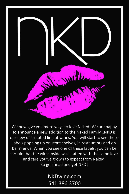 NKD PROMO CARD FRONT