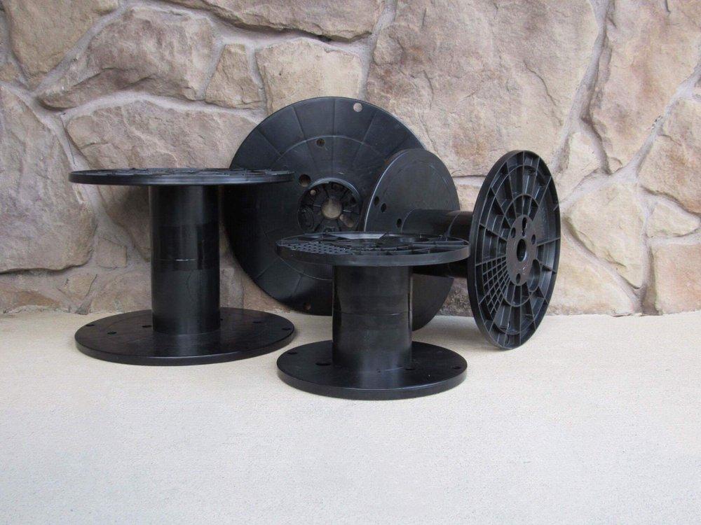 Heavy Duty Utility Plastic Spools.JPG