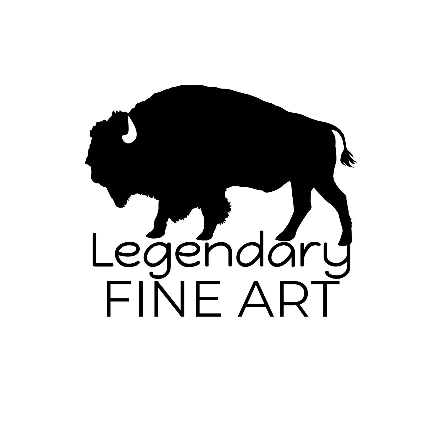 Word Art — Legendary Fine Art