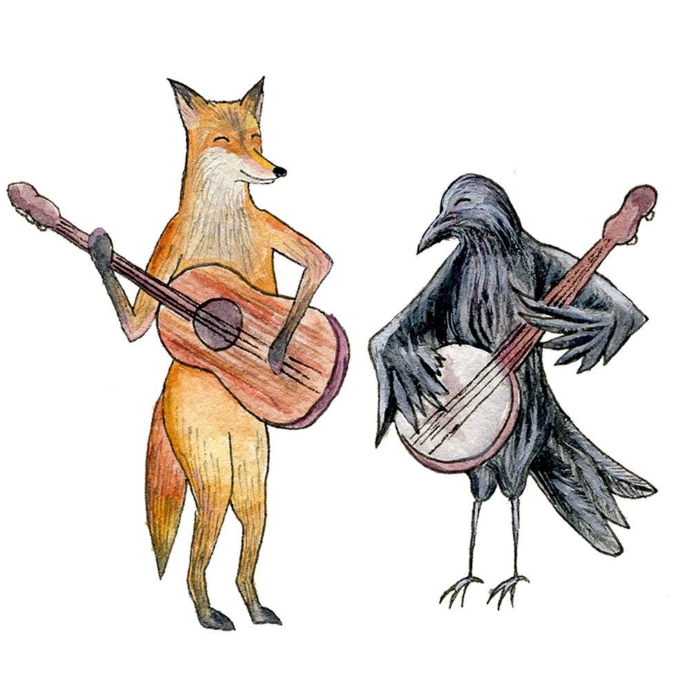 Fox and Crow Banjo.jpg