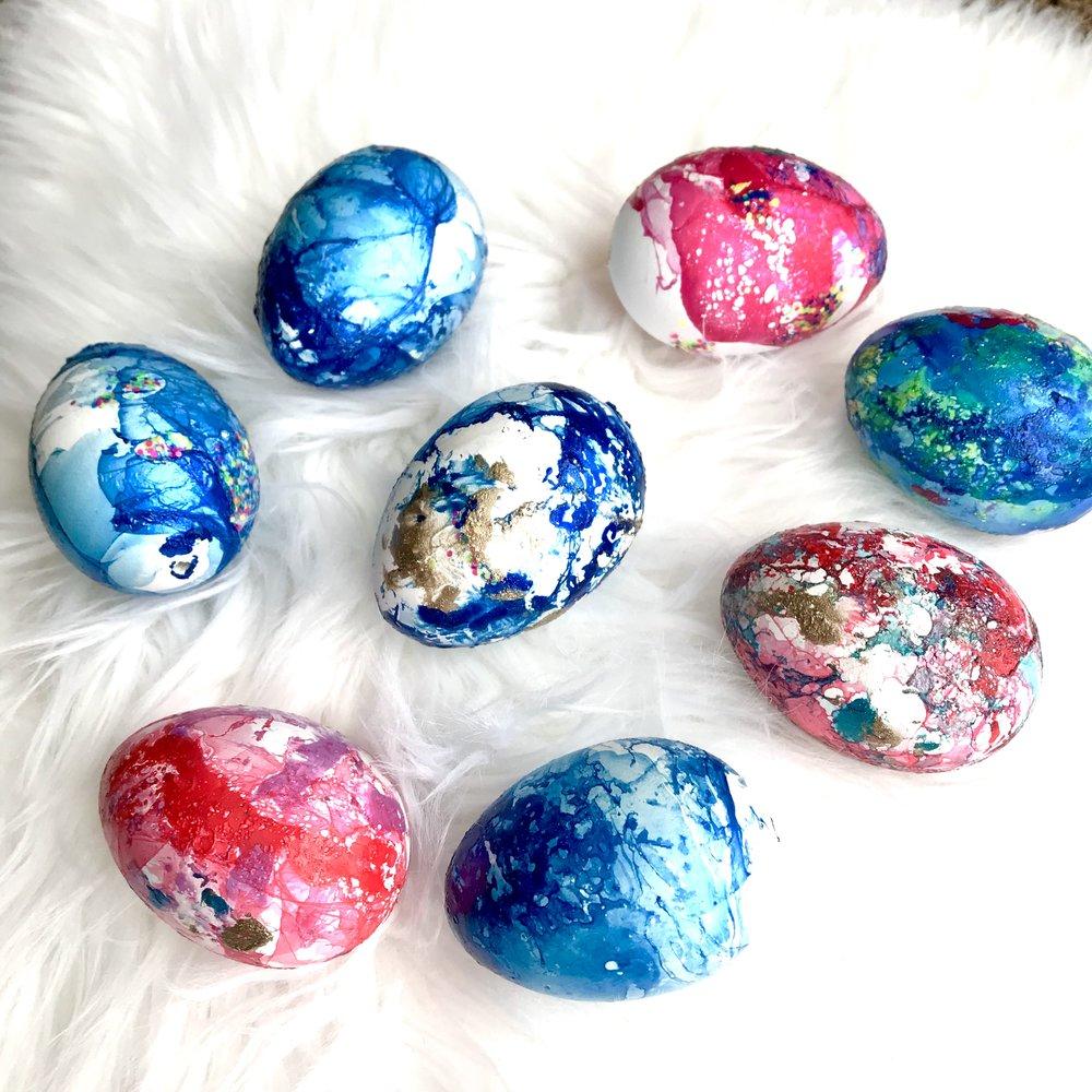 Nail Polish Eggs Easter Spring Crafting A N O T H E R S O U T H