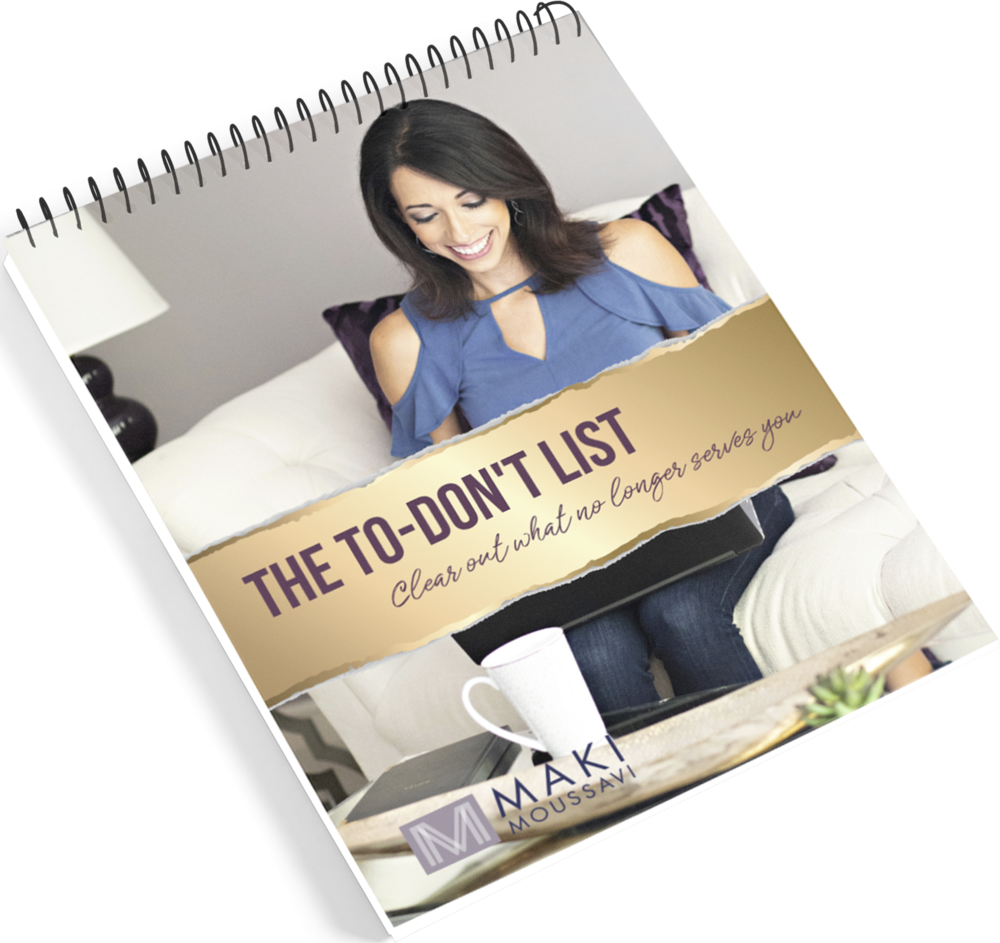 """- It's time to get out of """"achievement mode"""" and focus on what you should NOT be doing. There's not enough space in your head or on your calendar to get clear on what no longer serves you when you stay in the cycle of doing.Download my FREE guide, To-Dont's For High Achievers, and begin to reprogram yourself to transform your success mindset today.High Achievers love lists --because it feels so good to cross things off and get the buzz of energy that comes with each accomplishment, big or small. This """"achievement mode"""" pattern is NOT serving you. It's time to start a new pattern and live with intention. You can do this!"""
