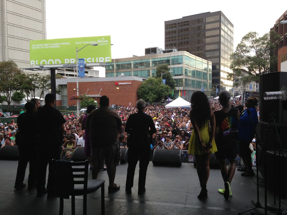 Oakland Pride 2015 Full Event Production