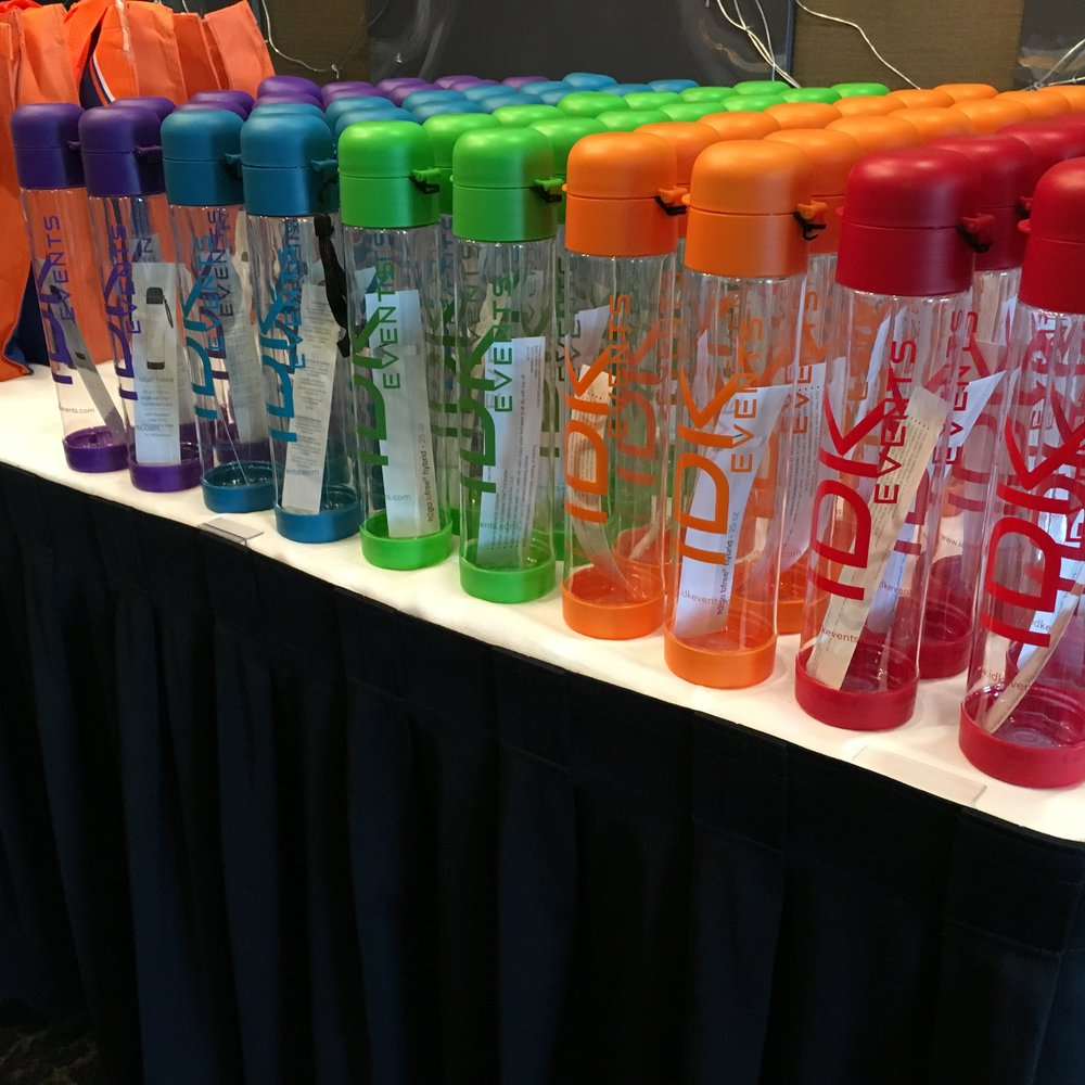 CAPI Conference 2016 Event Sponsor and Custom Bottle Creation