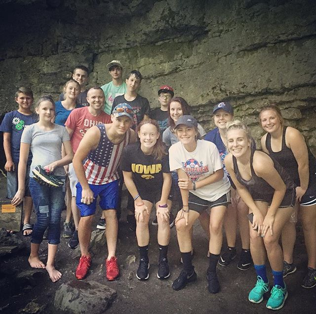 412 hiking trip today! Enjoying our last Sunday before school starts! #412studentministry #hikingadventures