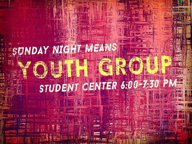 Hope to see you at 412 tonight! #412studentministry #thisismycampus