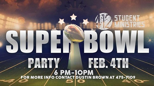 This Sunday Dan and Bev Clark will be hosting a 412 Super Bowl Party! Contact us for directions and address! Hope to see you there!