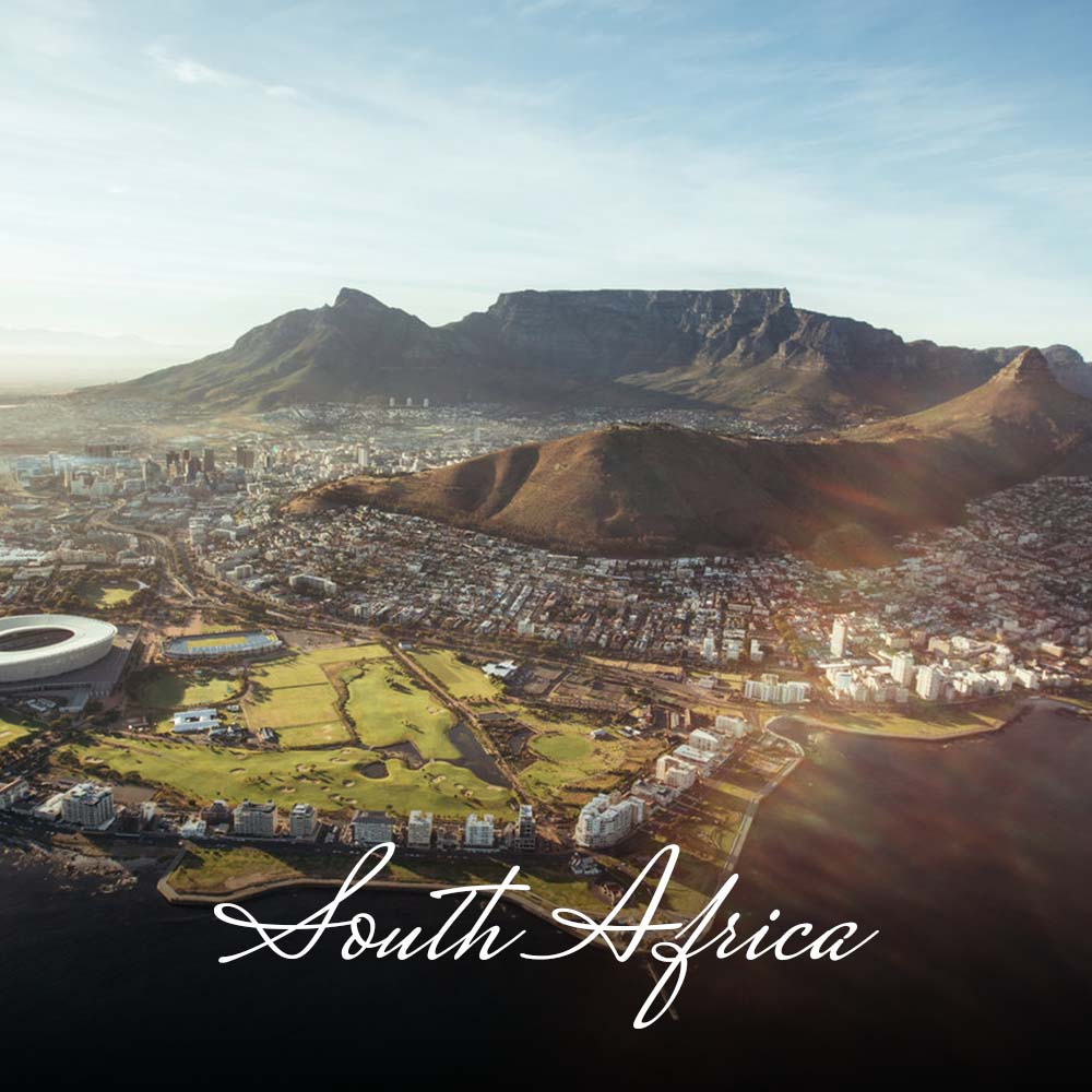 South Africa is one of the most diverse and fascinating countries in the world. Its exotic combinations of landscapes, history and culture offer the traveller a wide variety of inspiring experiences. Under the shadow of the iconic Table Mountain, Cape Town stands unique with its attractive mix of mountains, beaches and winelands, making it a world-class destination.