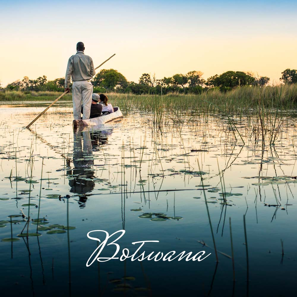 Botswana is often referred to as the 'Gem of Africa'; untamed, vast expanses of pristine wilderness teem with wildlife. Here the drama of the wild unfolds. Its greatest feature is the magnificent Okavango Delta and neighbouring Chobe National Park. Botswana is incomparable in Africa.