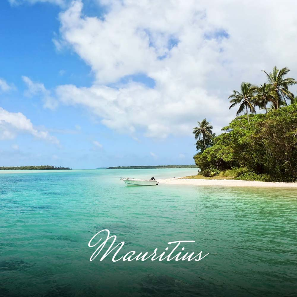 The emerald-green island of Mauritius, surrounded by warm, translucent, turquoise waters, is a year-round destination. You will find white sandy beaches, incredible golf courses, deep-sea fishing, diving and an abundance of water-sports and activities, all for you to enjoy.