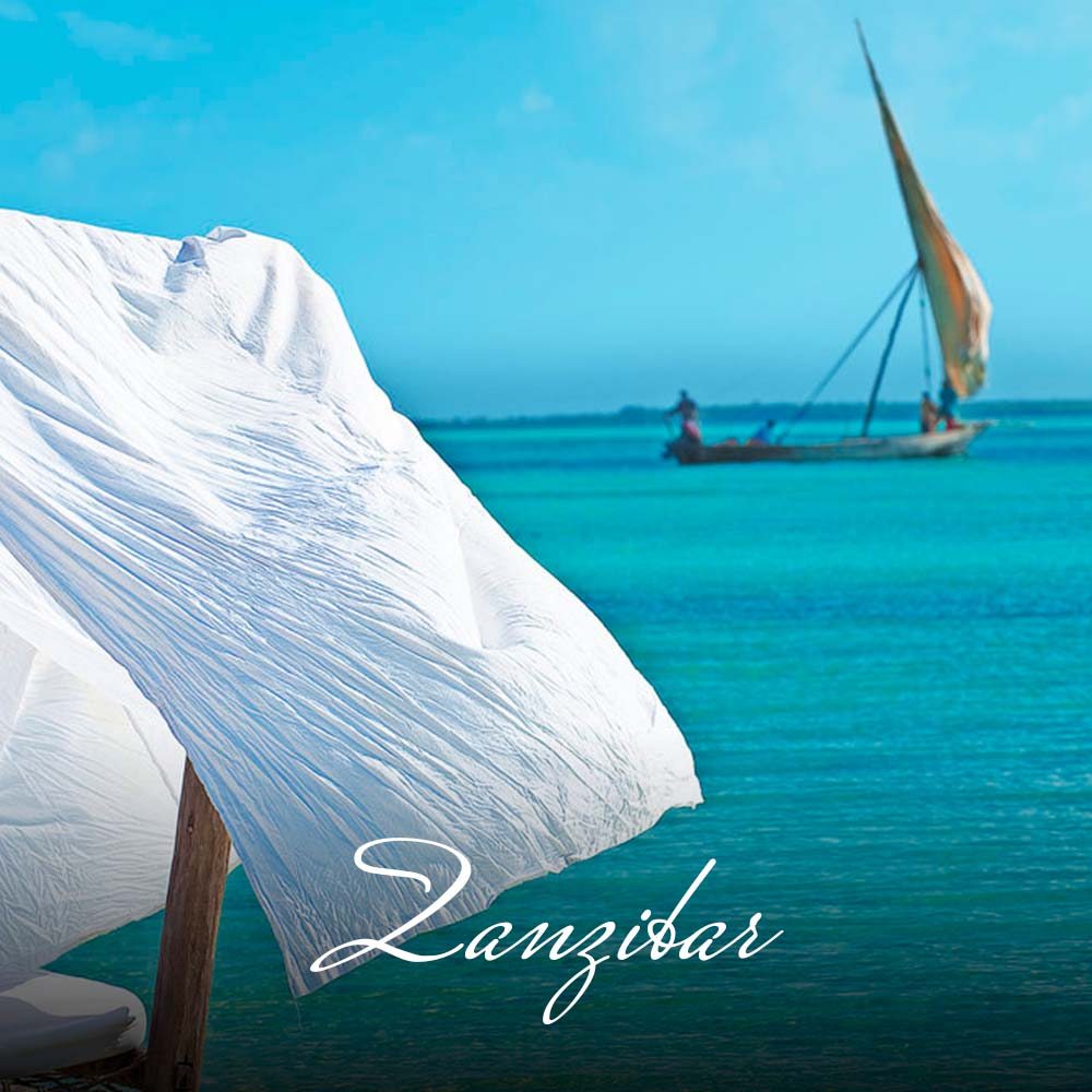 Known exotically as one of the spice islands, Zanzibar offers attractive beaches and reefs and an intriguing history with its fusion of Arab and African culture. Don't forget a visit to the bustling capital, Stone Town, with its narrow alleyways, charming city centre and ancient harbour.