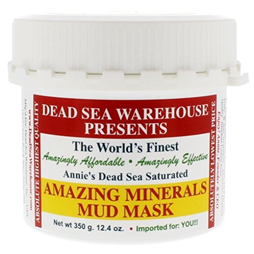 Dead Sea Warehouse Amazing Minerals Mud Mask, $22.60