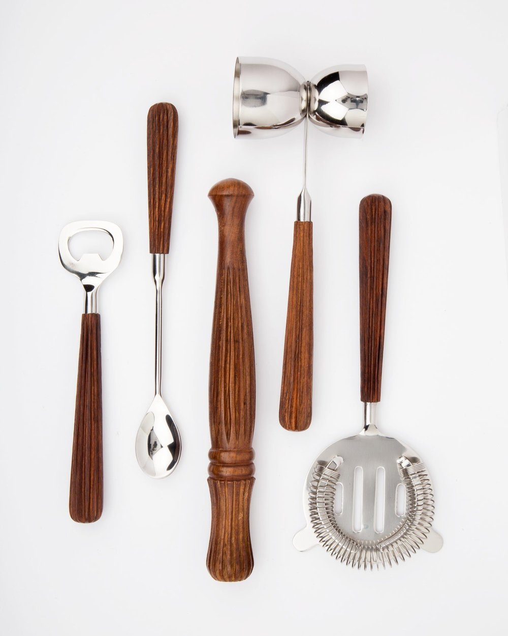 Hand Carved Craft Bar Tools - Ten Thousand Villages | $70 | Use 'STYLEMEFAIR25' for 25% off